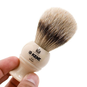 kent bk4b Glowing review for Kent BK4 Silver Tip Badger Shaving Brush