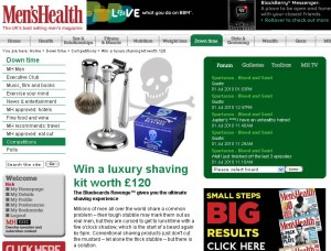 mens health screengrab 300x228 Win a premium shaving kit worth £120 thanks to Men's Health
