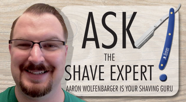 ask aaron 420 Ask Aaron Q/A: Could you recommend a razor and cream for sensitive skin and thin blond hair?