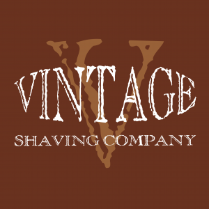 VSC logo brown 300x300 Vintage Shaving Company arrives at The Shaving Shack
