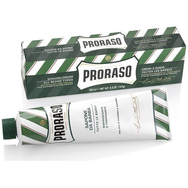 proraso shaving cream tub