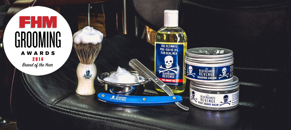 FHM names The Bluebeards Revenge as their 'Grooming Brand of the Year' for 2014