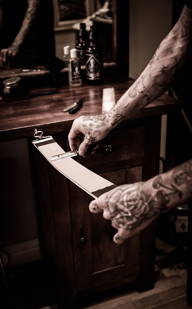 strop cut throat razor