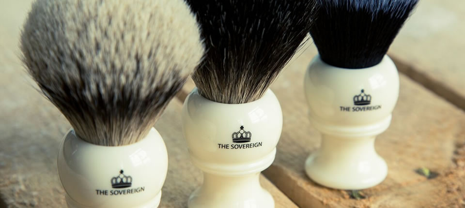 Looking for a quality shaving brush? Meet the exclusive Sovereign range