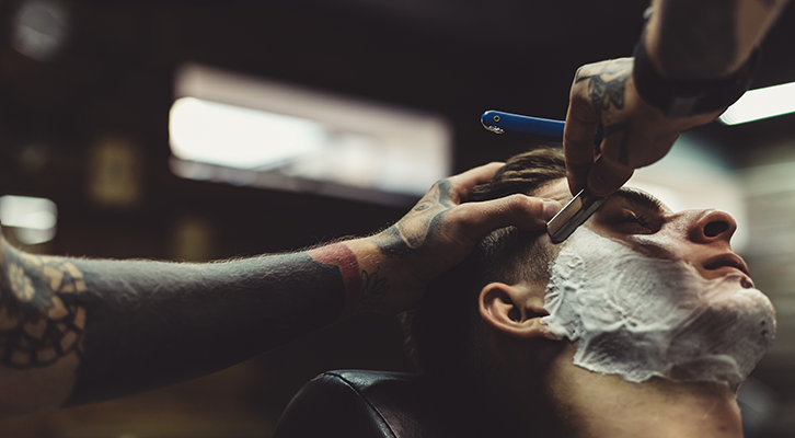 How to recreate a barbershop shave at home