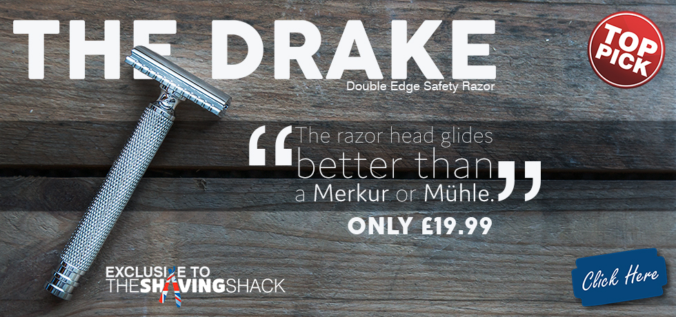 The Drake Double Edge Razor