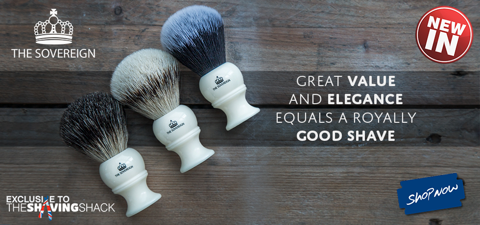 The Sovereign Shaving Brush Range