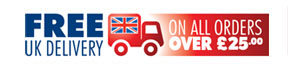 FREE UK delivery on all orders over £39.99