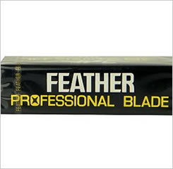 Feather Professional Artist Club Razor Blades