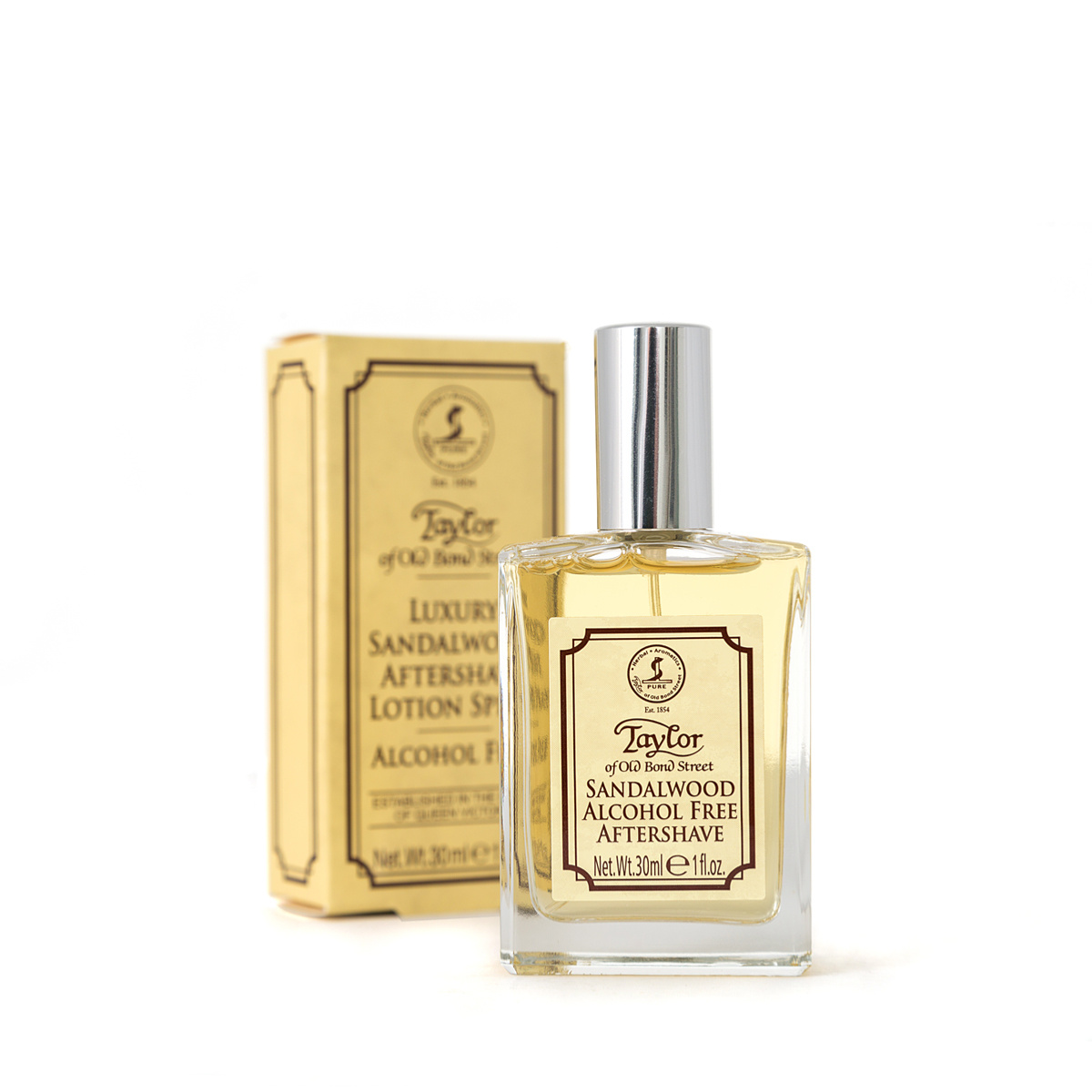 e287b92cbb8f Taylor of Old Bond St Sandalwood Alcohol Free Aftershave Lotion Spray (30ml)