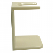 Shaving Brush Drip Stand (Cream)