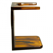 Shaving Brush Drip Stand (Tortoiseshell)