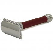 Merkur Matt Red Handle Safety Razor 38131
