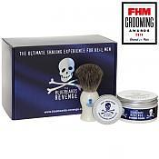 The Bluebeards Revenge Shaving Cream and Badger Brush Gift Set (Gift Boxed)