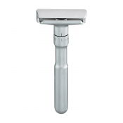 Merkur Futur 760 Adjustable Safety Razor with Satin Chrome Finish (Gift Tin and 10 Merkur DE Blades)