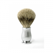 Edwin Jagger Chatsworth Super Badger Brush (Chrome Barley)