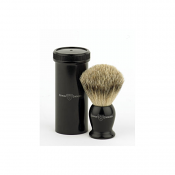 Edwin Jagger Best Badger Travel Shaving Brush (Ebony)