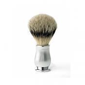 Edwin Jagger Chatsworth Best Badger Brush (Chrome Barley)