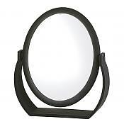 Shaving Mirror Black Soft Feel 19 x 16cm x 7 Magnification