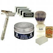 Safety Razor Starter Kit (Butterfly)