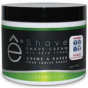 E-Shave Verbena Lime Shaving Cream (120g)