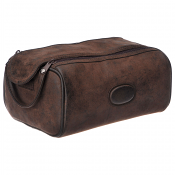 Montana  Twin Zip Box Shape Wash Bag