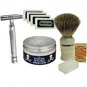 Safety Razor Starter Kit (Badger Brush)