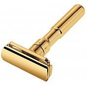 Merkur Futur Adjustable Safety Razor with 24K Gold Plated Finish
