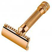 Merkur 34G Heavy Duty Classic with 24k Gold Plate Finish