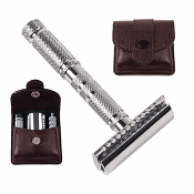Parker Four Piece Double Edge Travel Razor
