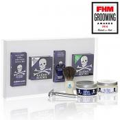The Bluebeards Revenge Shaving Cream, Brush & Double Edge Razor Gift Set