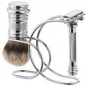 Merkur Chrome Razor and Brush Stand