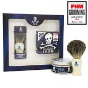The Bluebeards Revenge Shaving Cream & Badger Brush Kit