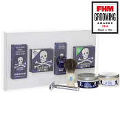 The Bluebeards Revenge Shaving Cream, Brush and Double Edge Razor Gift Set