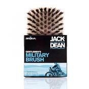 Jack Dean Gents Beechwood Military Hairbrush
