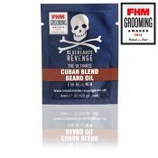 The Bluebeards Revenge Cuban Blend Beard Oil Sachet (3ml)