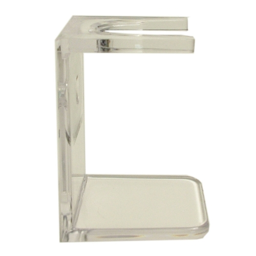 Shaving Brush Drip Stand (Clear)