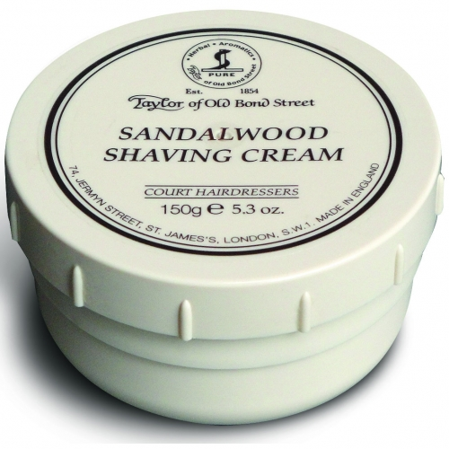 Taylor of Old Bond St Shaving Cream (Sandalwood 150g)