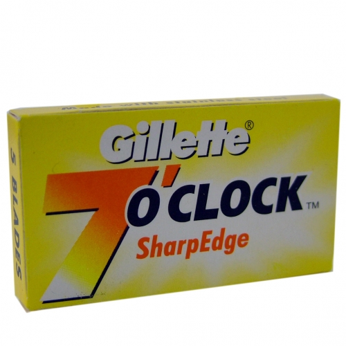 Gillette 7 O' Clock Double Edged Razor Blades