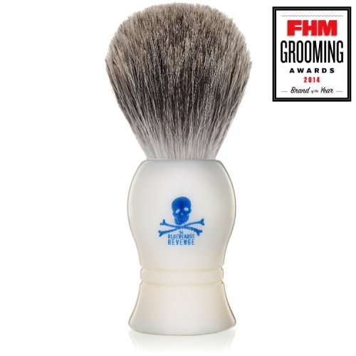 The Bluebeards Revenge Cream Pure Badger Shaving Brush