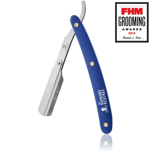 The Bluebeards Revenge Cut-Throat Straight Razor (Uses Replaceable Blades)