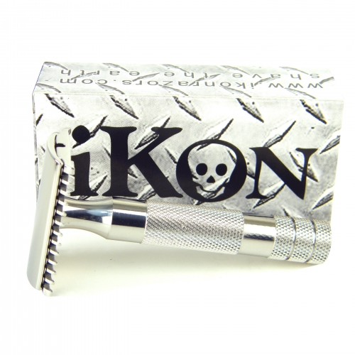 Ikon Bulldog Deluxe Stainless Steel Safety Razor