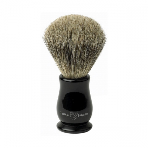 Edwin Jagger Chatsworth Super Badger Brush (Ebony)