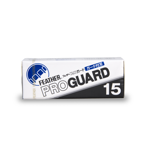 15 Feather Professional Pro Guard Blades