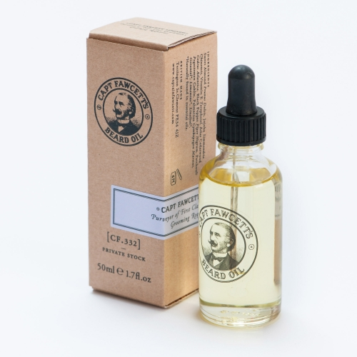 Captain Fawcett CF.332 Private Stock Beard Oil (50ml)