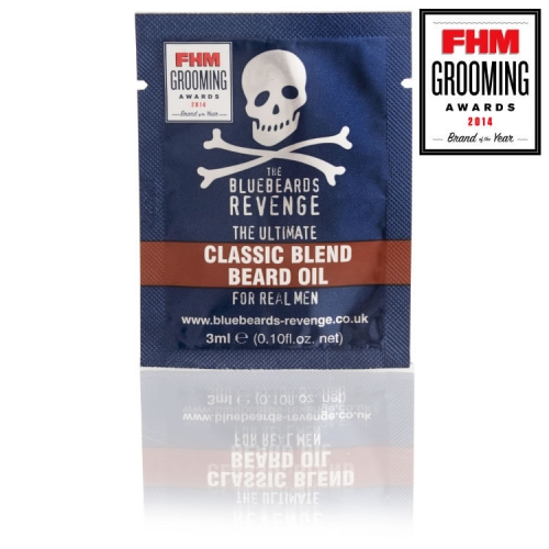 The Bluebeards Revenge Classic Blend Beard Oil Sachet (3ml)