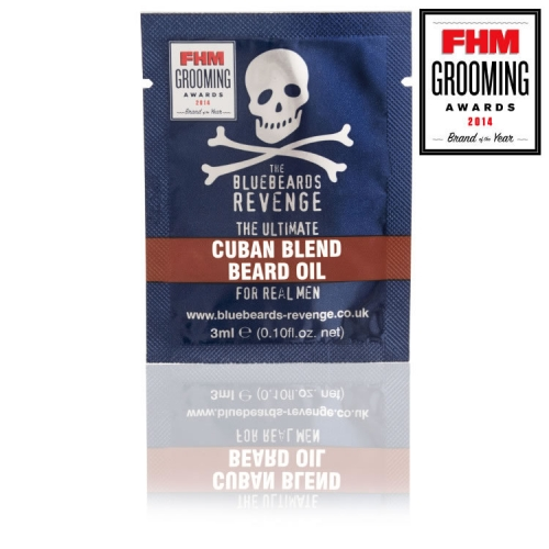 The Bluebeards Revenge 'Cuban Blend' Beard Oil Sachet (3ml)