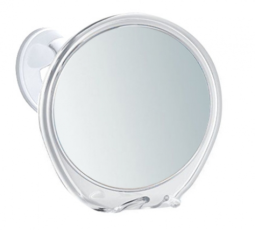 Shaving Mirror Fog Free 18cm x 5 Magnification