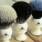 The Sovereign Range of shaving brushes