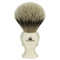 The Sovereign High Mountain White Silvertip Badger Brush